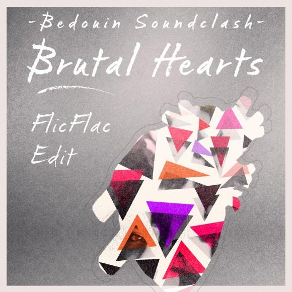 "Read more about the article Entdeckung des Tages – ""Brutal Hearts"" von Bedouin Soundclash (Flic Flac Remix) (Song)"