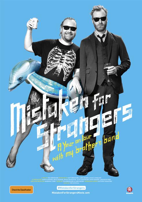 Mistaken For Strangers Plakat