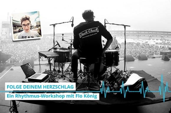 Finde Deinen Beat! Ein Rhythmus-Workshop mit Flo König