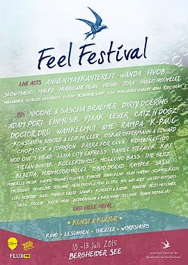 Feel Festival 2015 Flyer