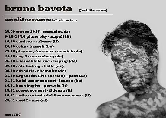 Tourdaten Bruno Bavota