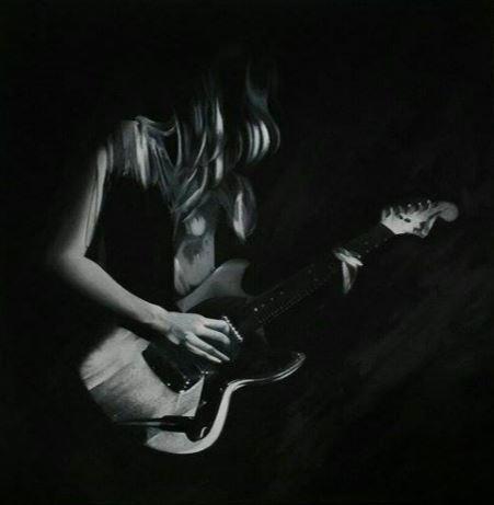 Lindsey Troy Malerei von Frieda K.