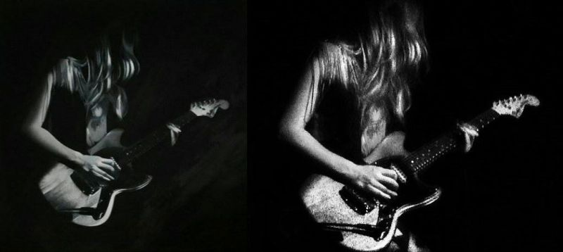 Read more about the article Malerei vs. Fotografie – Lindsey Troy (Deap Vally)