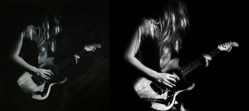 Malerei vs. Fotografie – Lindsey Troy (Deap Vally)