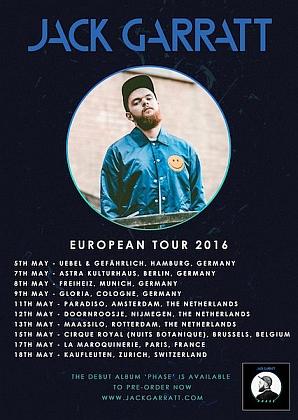 You are currently viewing Konzert-Tipp: Newcomer Jack Garratt im Mai auf Tour