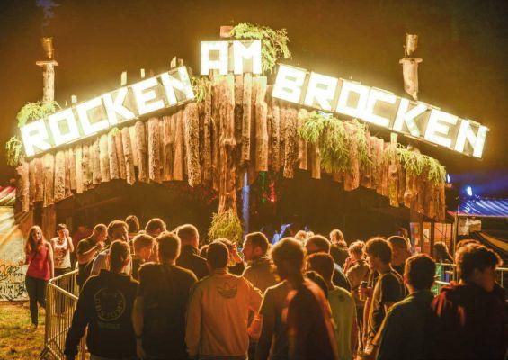 Rocken am Brocken Festival Pressebild
