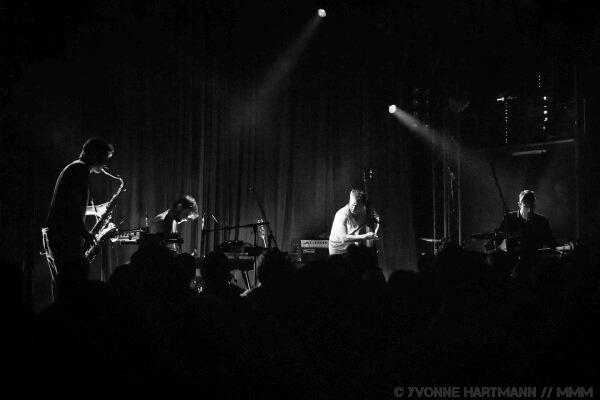 Portico Quartet live im Lido Berlin Konzertbericht MUSIKMUSSMIT