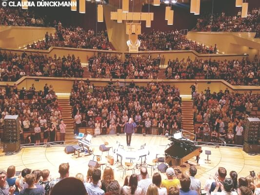 Max Richter live in der Philharmonie Berlin MUSIKMUSSMIT