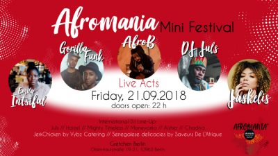 Afromania – Das Mini-Festival für Afrobeats-Lovers in Berlin