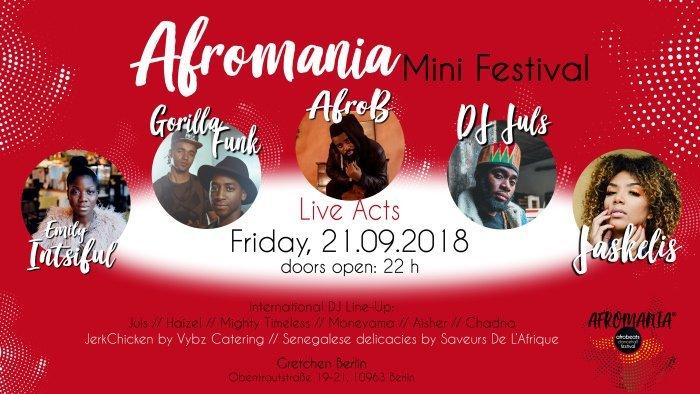 Afromania Mini Fetival Berlin