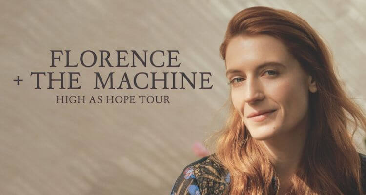 Tourdaten 2019 Florence and the Machine