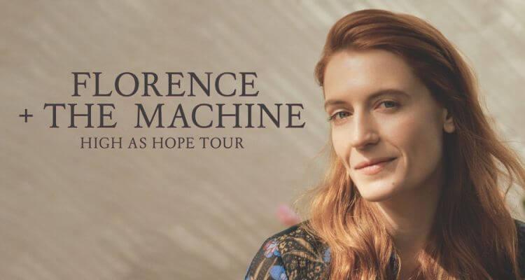Tourdaten 2019 Florence and the Machine