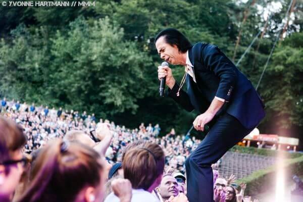 Nicke Cave live in der Waldbühne Berlin Konzertbericht MUSIKMUSSMIT