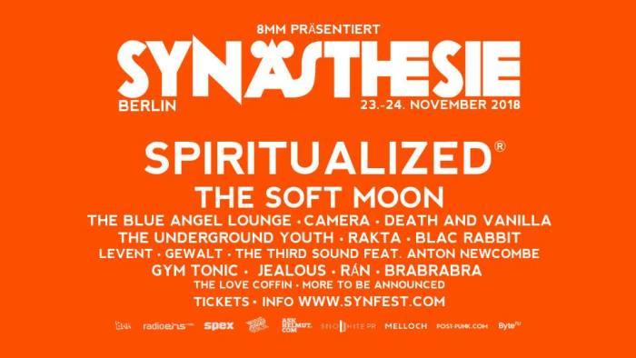 Synaesthesie Festival Berlin Line Up Plakat