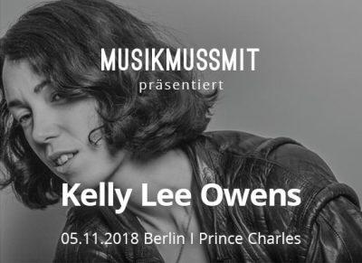 MUSIKMUSSMIT präsentiert Kelly Lee Owens live in Berlin im November Tickets zu gewinnen
