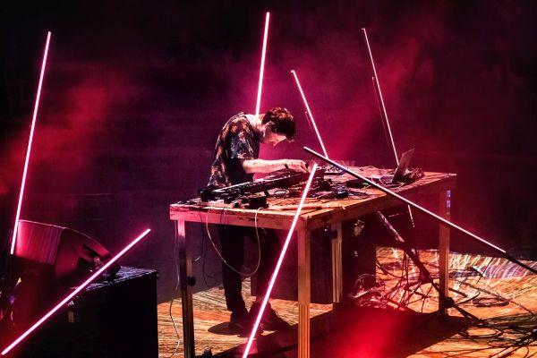 Rival Consoles live im Funkhaus Berlin 2018 Konzertbericht