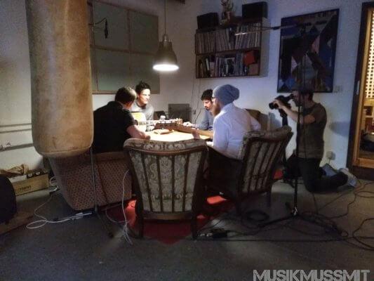 Studiobesuch bei Brokof in Berlin Friedrichshain | MUSIKMUSSMIT