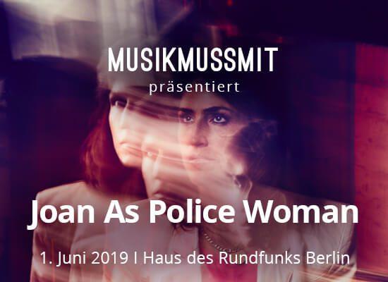 Read more about the article Wir präsentieren: Joan As Police Woman im Juni live in Berlin | Gästelistenplätze