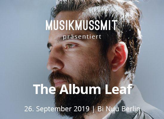 Read more about the article Wir präsentieren: The Album Leaf im September live in Berlin | Gästelistenplätze