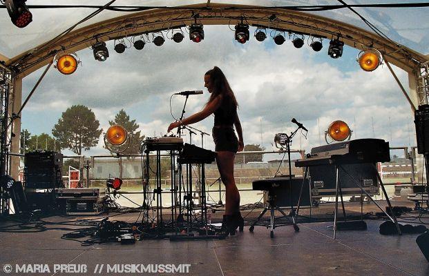 Lisa Morgenstern auf dem Maifeld Derby in Mannheim 2019 | MUSIKMUSSMIT