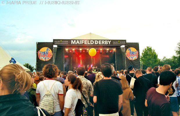 Gurr auf dem Maifeld Derby in Mannheim 2019