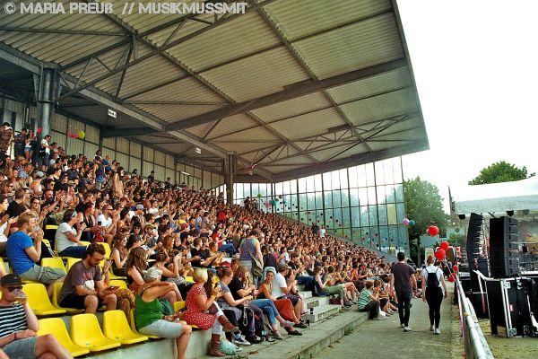 Maifeld Derby in Mannheim 2019