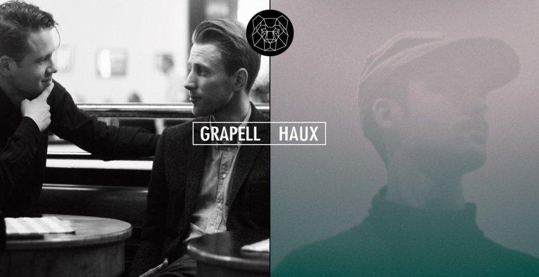 Grapell und Haux live im Auster Club Berlin