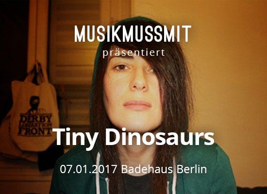 Julie Jay aka Tiny Dinosaurs Konzert Berlin MUSIKMUSSMIT