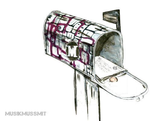 Musik aus der Postbox MUSIKMUSSMIT Folk Illustration Jakuffo Musik entdecken