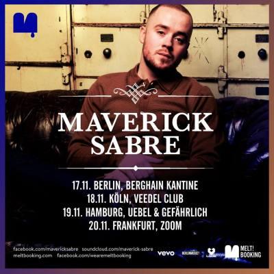 Read more about the article Er hat den Soul: Maverick Sabre im November auf Tour | Gästelistenplätze