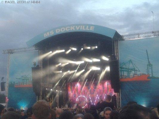 Oh Wonder beim MS Dockville Festivalbericht 2017 MUSIKMUSSMIT
