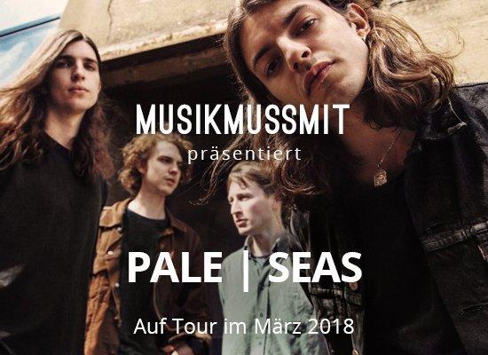 Read more about the article Wir präsentieren: Pale | Seas im März auf Tour | Gästelistenplätze