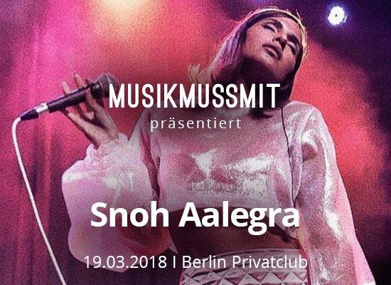 Snoh Aalegra Pressefoto Konzert Berlin