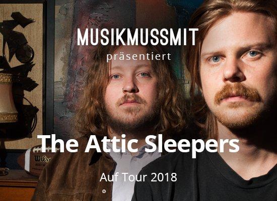 Read more about the article Wir präsentieren: The Attic Sleepers im Januar auf Tour | Gästelistenplätze