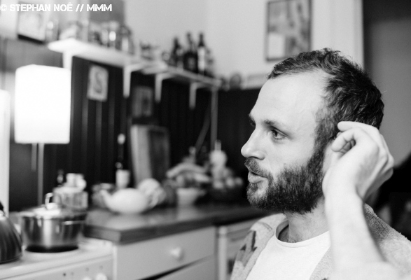 Jorma von Skelton Skies aus Berlin Interview Videosession Foto ©Stephan Noë