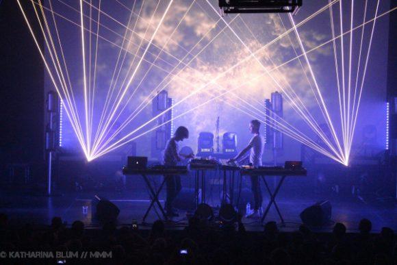 Konzertbericht: Kiasmos im Kesselhaus Berlin