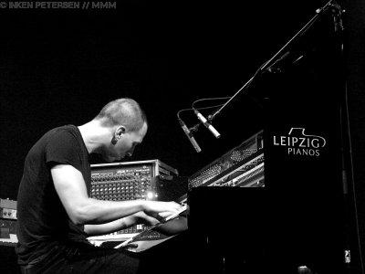 Martin Kohlstedt live in Leipzig Foto Inken Petersen MUSIKMUSSMIT