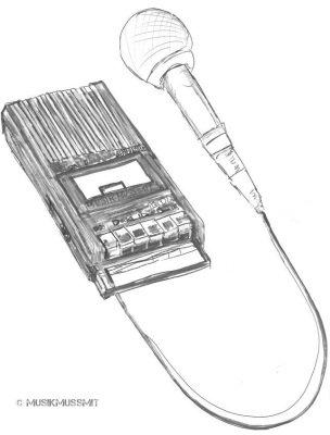 Podcasts Auswahl Empfehlungen MUSIKMUSSMIT Illustration Jakuffo